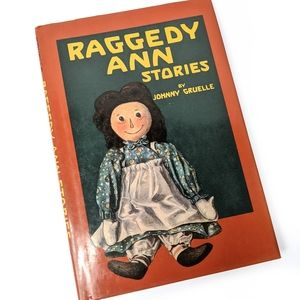 Vintage 1993 Raggedy Ann Stories By Johnny Gruelle